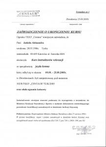 zaświadczenie - OrganizacjaDniaDziecka.pl
